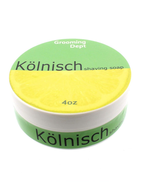 Grooming Dept. - Janus Base vegan  Shaving Soap - Kölnisch