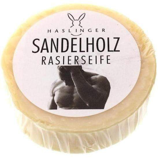 Haslinger SPA Sandalwood Shaving Soap 60g