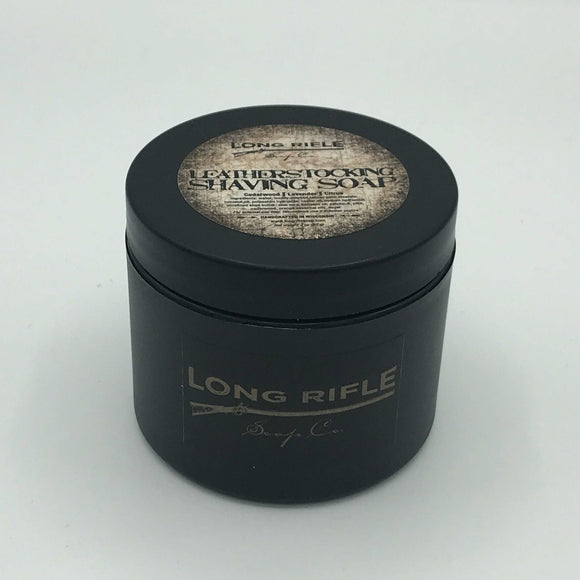 Long Rifle Soap Co. Shaving Soap, Leatherstocking