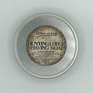 Long Rifle Soap Co. Shaving Soap, Hunting Lodge 3 oz Puck