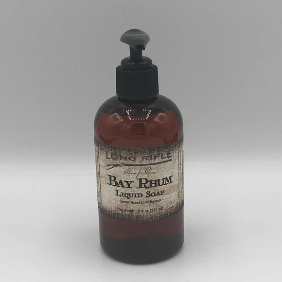 Long Rifle Soap Co. Bay Rhum Liquid Hand Soap