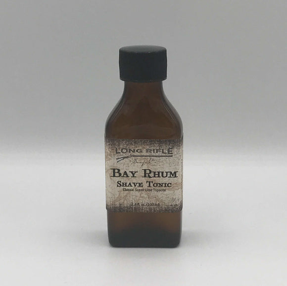 Long Rifle Soap Co. Aftershave Tonic, Bay Rhum