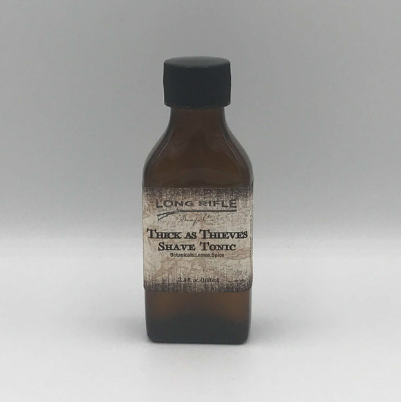 Long Rifle Soap Co. Aftershave Tonic, Thick As Thieves