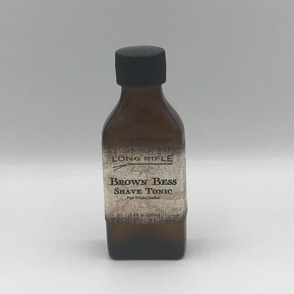 Long Rifle Soap Co. Aftershave Tonic, Brown Bess