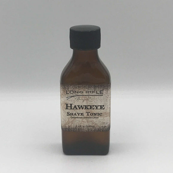 Long Rifle Soap Co. Aftershave Tonic, Hawkeye