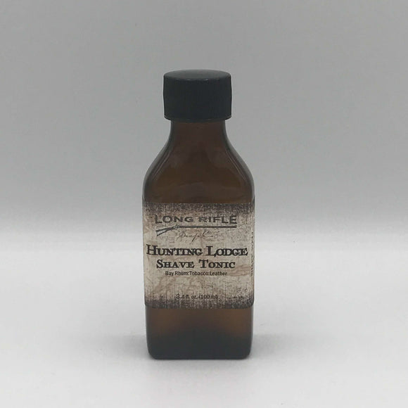 Long Rifle Soap Co. Aftershave Tonic, Hunting Lodge