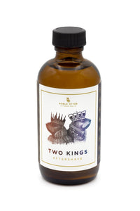 Two Kings focus is on two powerful notes in the world of perfumery, Rose and Oud. With the Rose we have the powerful floral elegance. The known aroma around the world. It gives the feeling of lust, elegance and grandeur. In Oud we have darkness, mystery and power. Two Kings is a powerfully dark floral encapsulated with incense and spice. A perfect blend for a night out.