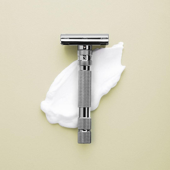 Rockwell Razors Model T - Adjustable Safety Razor - Gunmetal Chrome