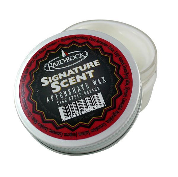 RazoRock 100% Natural Handmade Aftershave Wax - Signature Scent