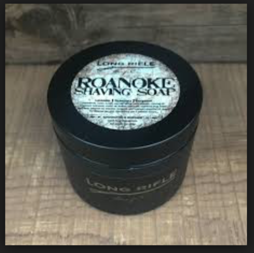 Long Rifle Soap Co. Shaving Soap, Roanoke