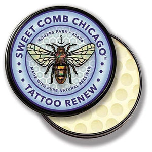 Sweet Comb Chicago All Natural Tattoo Renew and Refresher