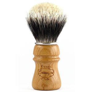 Semogue Owners Club - 2 Band Badger - Ash Wood Shaving Brush