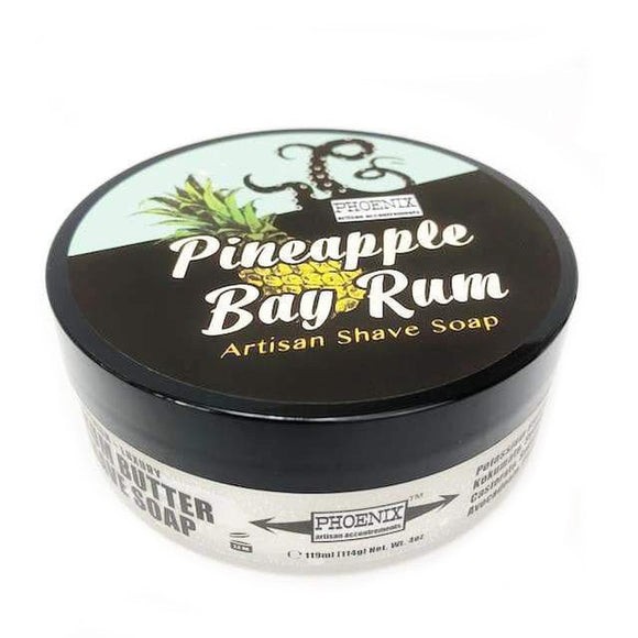 Phoenix Artisan Accoutrements - Shaving Soap - Pineapple Bay Rum