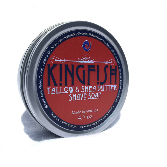 Southern Superior Shave - Kingfish - Premium Handmade Shave Soap