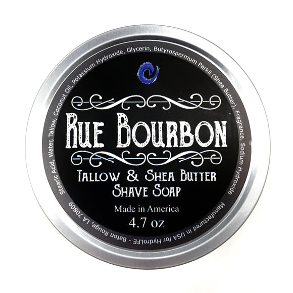 Southern Superior Shave - Rue Bourbon - Premium Handmade Shave Soap