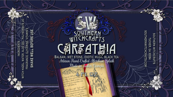 Southern Witchcrafts Aftershave Splash - Carpathia