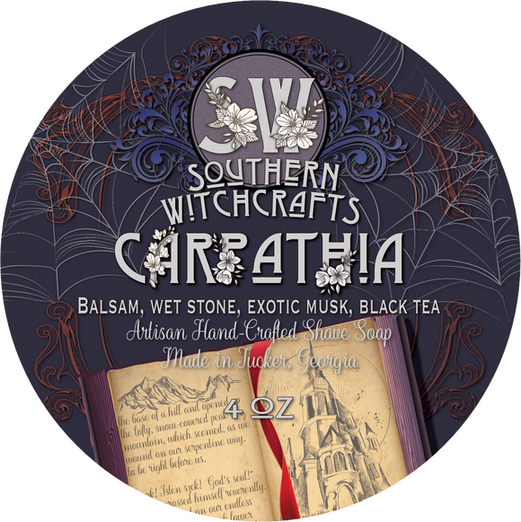 Southern Witchcrafts Shave Soap - Carpathia - Vegan