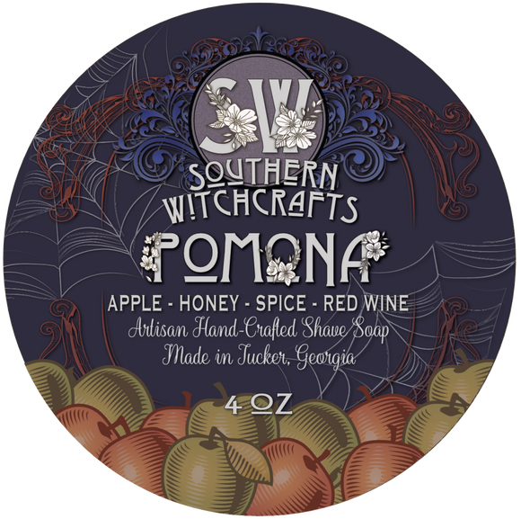 Southern Witchcrafts Shave Soap - Pomona - Vegan