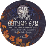 Southern Witchcrafts Shave Soap - Autumn Ash - Vegan