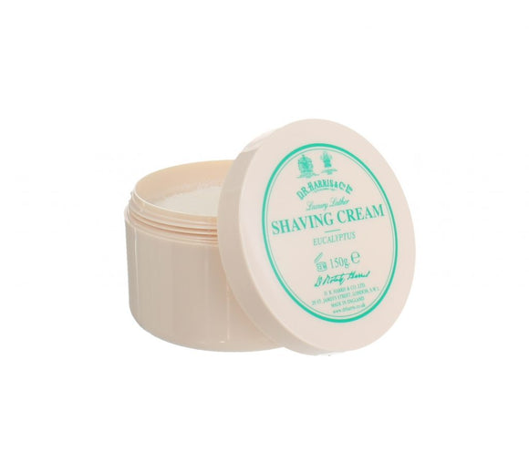 D.R. Harris & Co Eucalyptus Luxury Shaving Cream Tub 150g