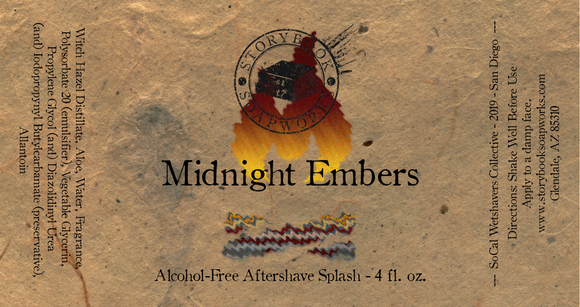 Storybook Soapworks - Midnight Embers Aftershave