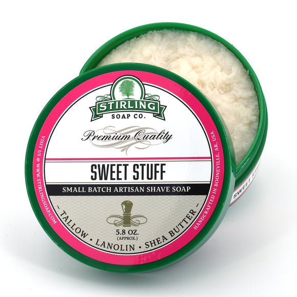 Stirling Soap Company - Shave Soap - Sweet Stuff