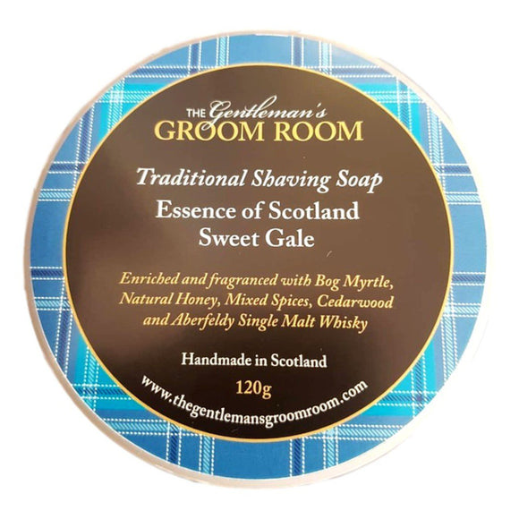 The Gentleman's Groom Room - Essence of Scotland Shaving Soap 120g - Sweet Gale