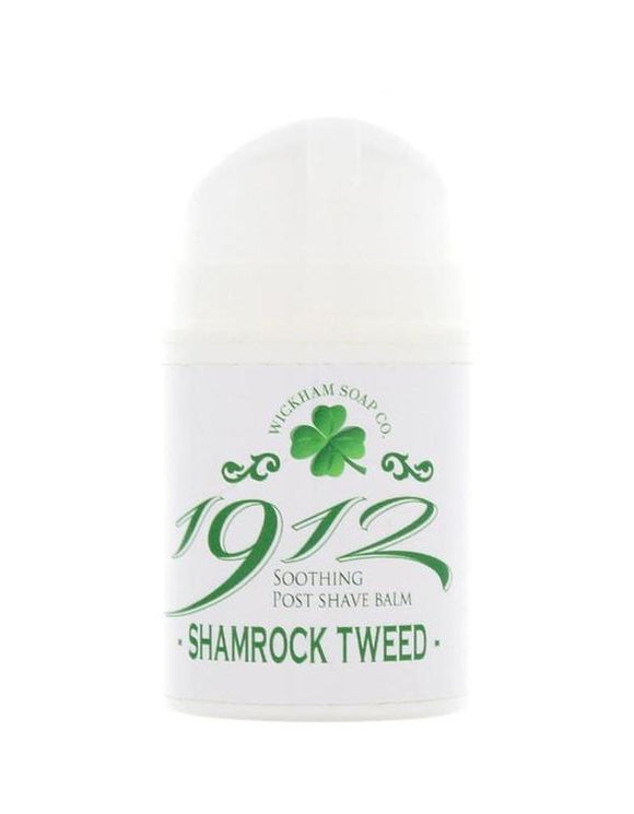 Wickham Soap Co. - Shamrock Tweed - Aftershave Balm 50g