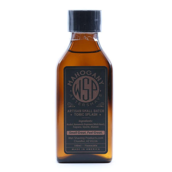 Wet Shaving Products Aftershave Tonic Splash 100Ml Mahogany