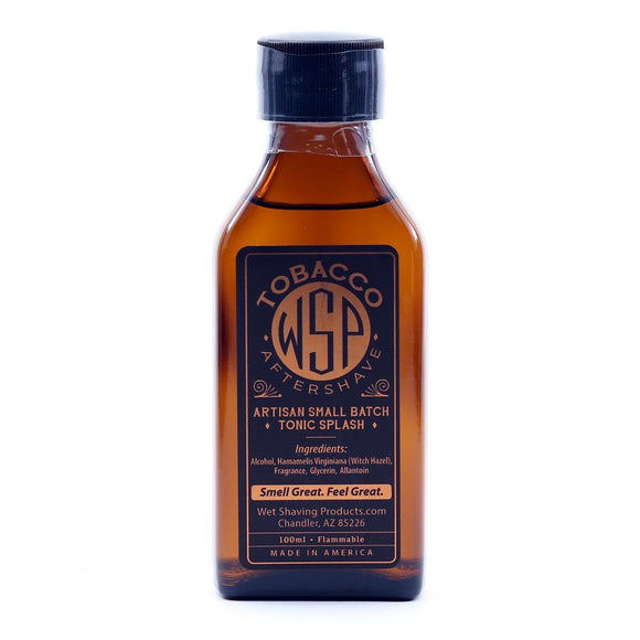 Wet Shaving Products Aftershave Tonic Splash 100Ml Tobacco