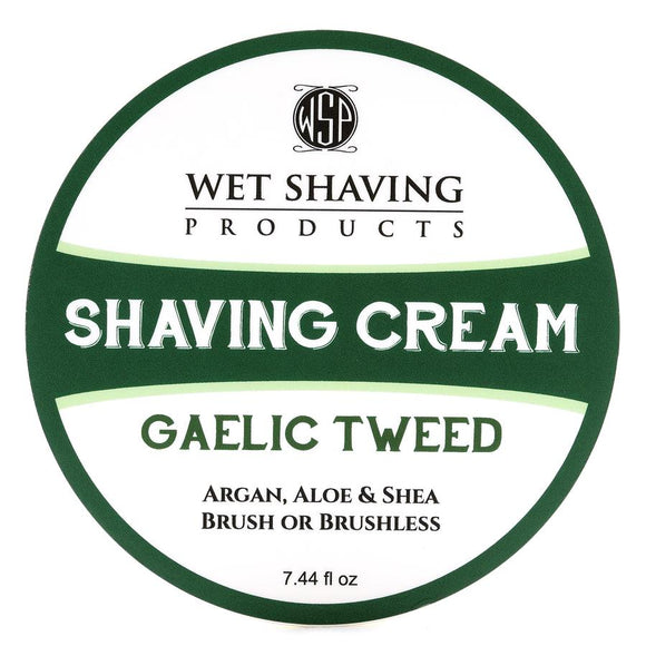 Wet Shaving Products  Shaving Cream 7.44 Oz - Gaelic Tweed Scent