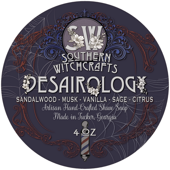 Southern Witchcrafts Shave Soap - Desairology - Vegan
