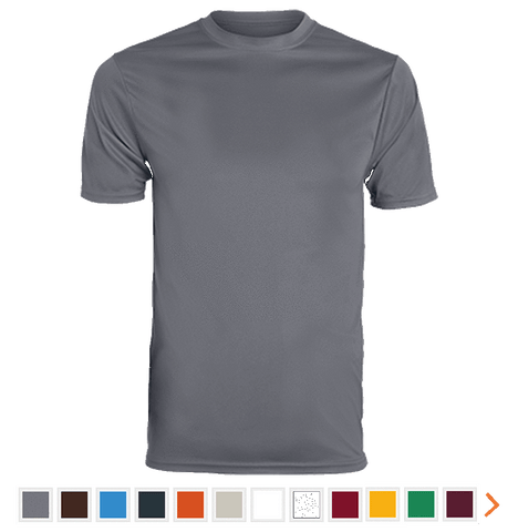 Customizable Augusta Men's Performance Short Sleeve T-Shirt