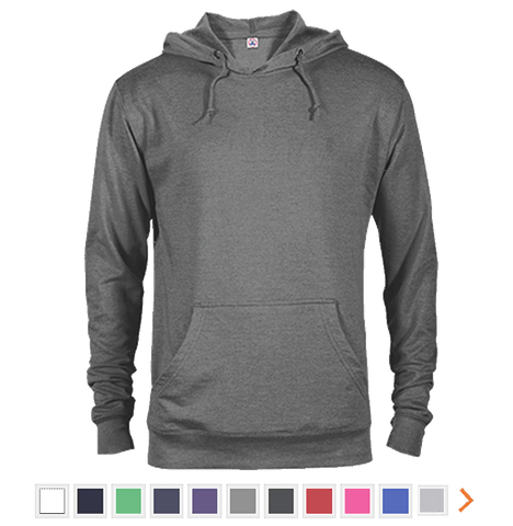 Customizable Delta French Terry Hoodie