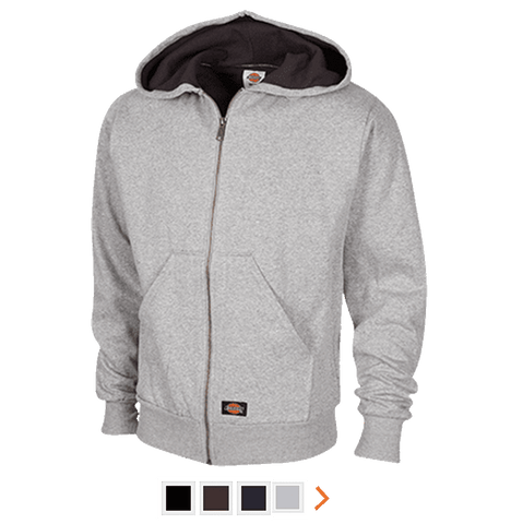 Customizable Dickies Thermal Fleece Hoodie