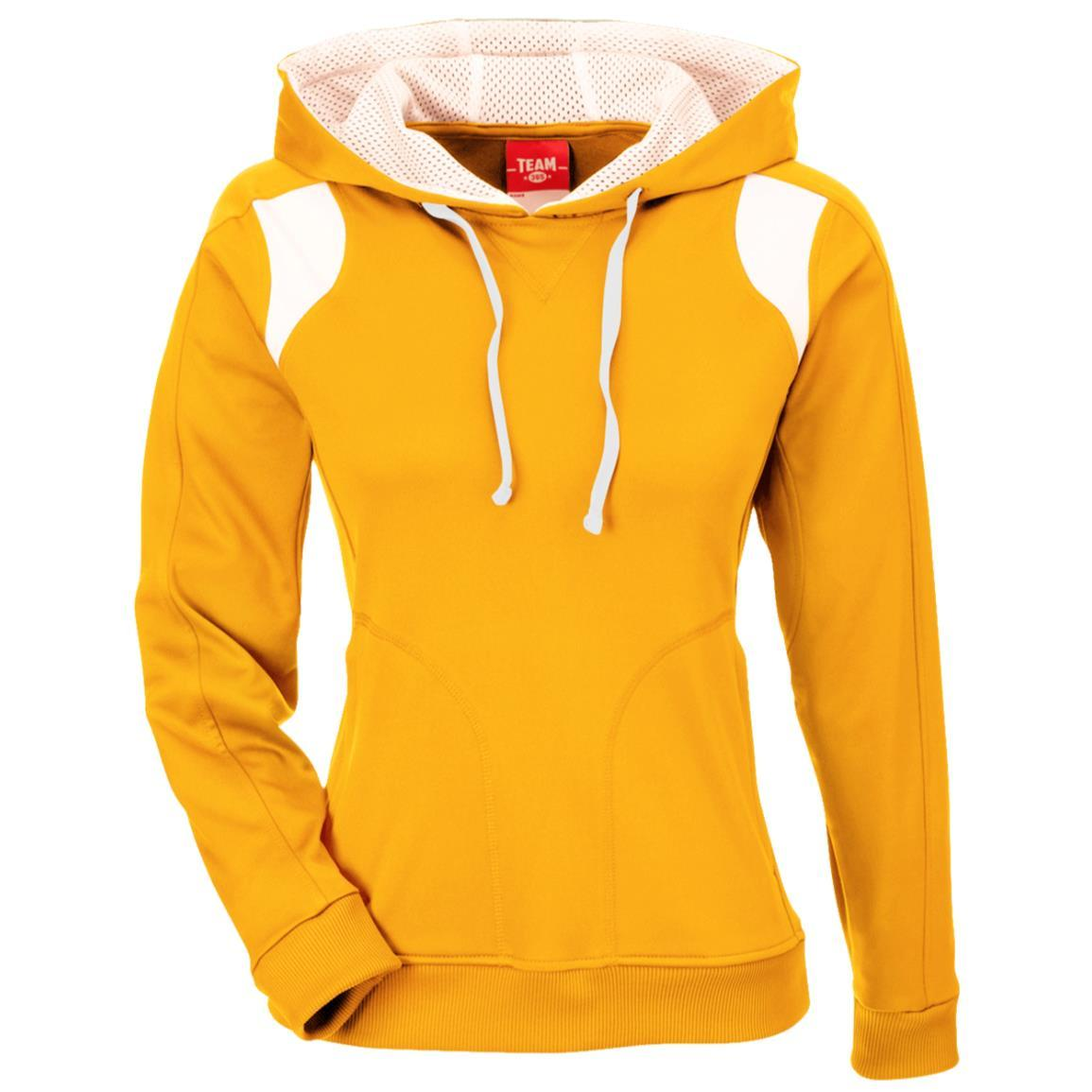 Team 365 Ladies' Colorblock Poly Hoodie