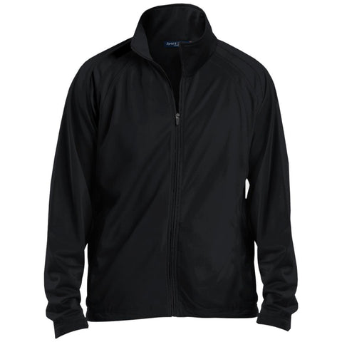 Sport-Tek Men's Raglan Sleeve Warmup Jacket
