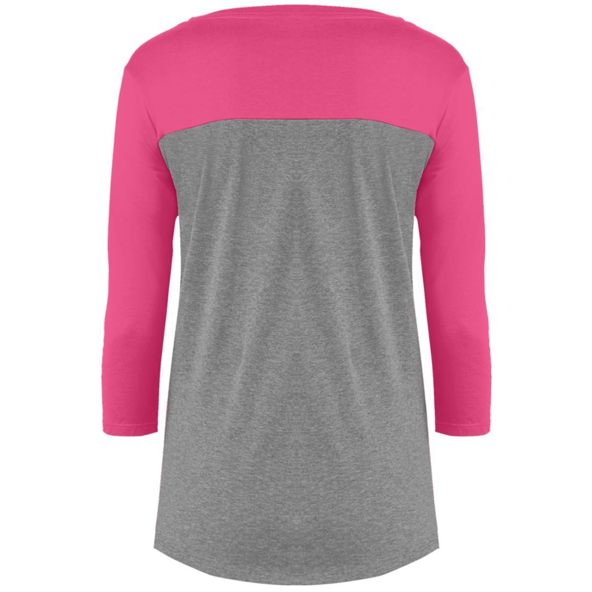 Ladies District Rally 3/4 Sleeve T-Shirt