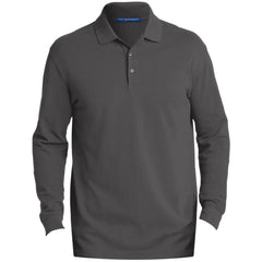 Port Authority Men's EZCotton™ Long Sleeve Polo