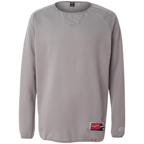 Rawlings® Flatback Mesh Fleece Pullover