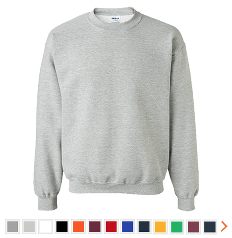 Customizable Gildan Crewneck Sweatshirt