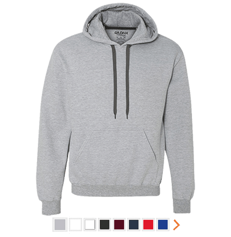 Customizable Gildan Heavyweight Pullover Fleece Sweatshirt