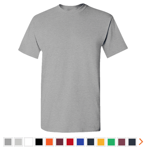 Customizable Gildan Men's Premium Short Sleeve T-Shirt