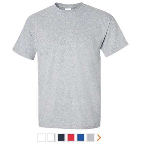 Customizable Gildan Tall Ultra Cotton T-Shirt
