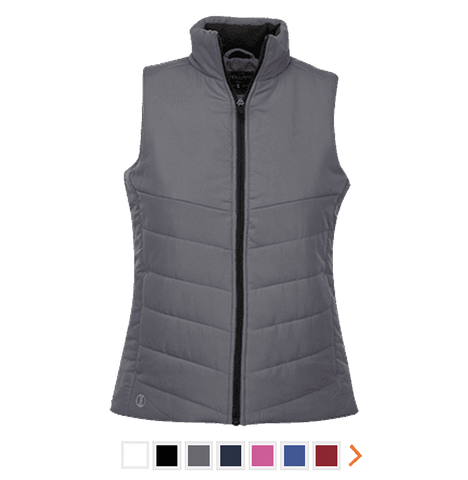 Customizable Holloway Ladies Quilted Vest