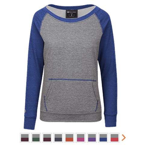 Customizable Holloway Fleece Crew Sweatshirt