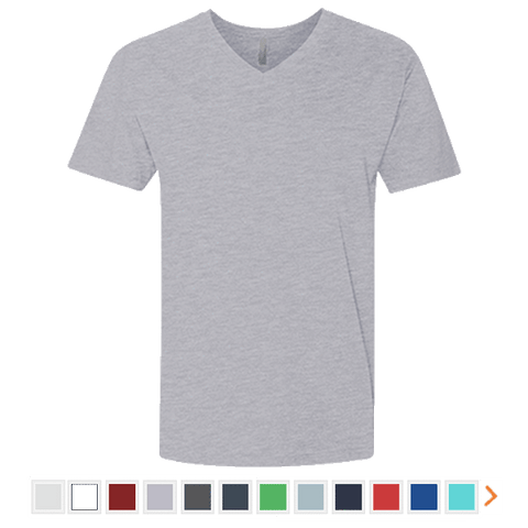 Next Level Men's Premium Fitted Short Sleeve V-Neck