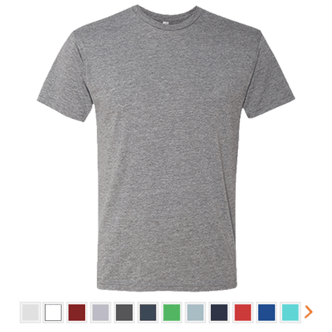 Next Level Men's Triblend Short Sleeve T-Shirt
