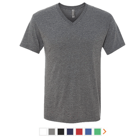 Next Level Men's Triblend V-Neck T-Shirt
