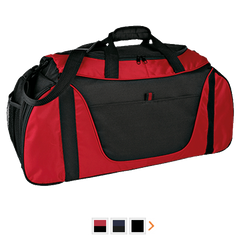 Customizable Port Authority Medium Color Block Gear Bag